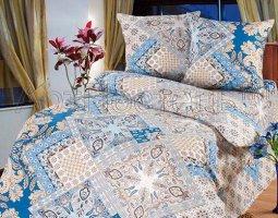 Комплект постельного белья 1,5сп бязь АРТ-Флоренция