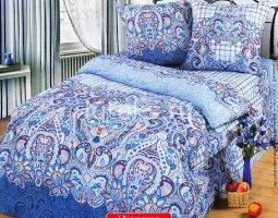 Комплект постельного белья семейный бязь АРТ-Индиго