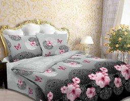 Комплект постельного белья семейный из бязи Стандарт Царица ночи