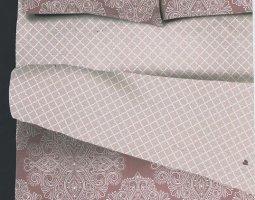 Комплект постельного белья евро из бязи Стандарт Бренда 1