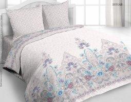 Комплект постельного белья евро из бязи Стандарт Ирма