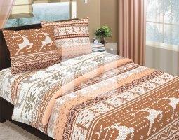 Комплект постельного белья семейный из бязи Традиции текстиля Аляска 2