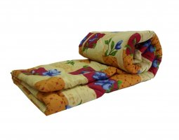 Одеяло полиэфирное 2сп (синтепон) в бязи