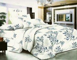 Комплект постельного белья семейный поплин без молнии Меган