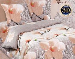 Комплект постельного белья 2сп поплин Полина