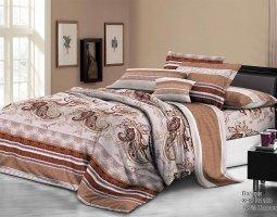 Комплект постельного белья 2сп поплин без молнии Сания