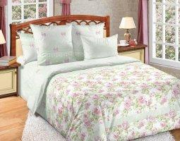 Комплект постельного белья семейный перкаль Ариэль с 4-мя наволочками