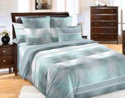 Комплект постельного белья евро перкаль Спектр