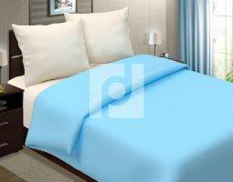 Комплект постельного белья евро поплин однотонный Бриз