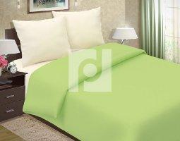 Комплект постельного белья 1,5сп поплин однотонный Лайм