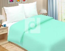 Комплект постельного белья 2сп поплин однотонный Мятная свежесть