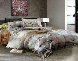 Комплект постельного белья евро сатин 3D Фуруд