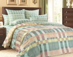Комплект постельного белья евро mini сатин Соло