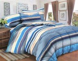 Комплект постельного белья семейный сатин Деймон