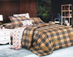 Комплект постельного белья семейный сатин Ждан