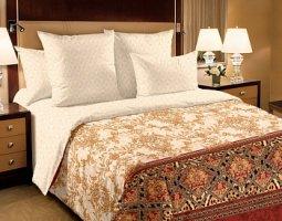 Комплект постельного белья семейный сатин Императрица
