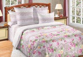 Комплект постельного белья семейный сатин Елизавета