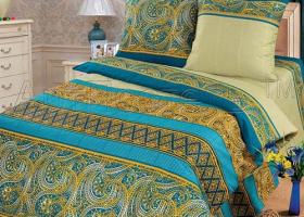 Комплект постельного белья евро бязь АРТ-Диего