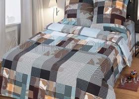 Комплект постельного белья семейный бязь АРТ-Альфред