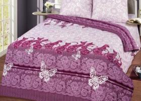 Комплект постельного белья евро бязь АРТ-Шармэль