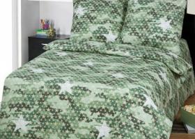 Комплект постельного белья 1,5сп бязь АРТ-Милитари
