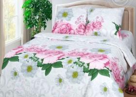 Комплект постельного белья семейный бязь АРТ-Нега