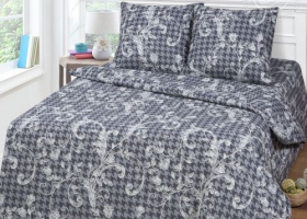 Комплект постельного белья евро бязь АРТ-Визит
