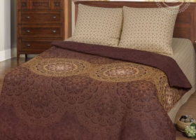 Комплект постельного белья евро бязь АРТ-Визирь
