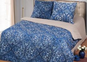 Комплект постельного белья 2сп бязь АРТ-Лазурит