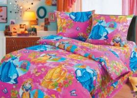 Комплект постельного белья 1,5сп бязь АРТ-Царевны