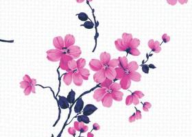Постельное белье 1,5сп бязь пл 100  Сакура розовая с 1 наволочкой 70х70