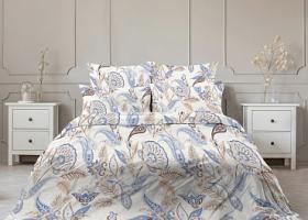 Комплект постельного белья евро бязь ГОСТ Гранат
