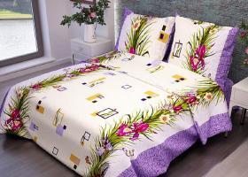 Комплект постельного белья 1,5сп бязь ГОСТ Ирисы