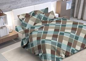 Комплект постельного белья евро из бязи Стандарт Милфорд