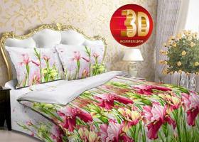 Комплект постельного белья Семейный бязь ГОСТ Ирсен 1