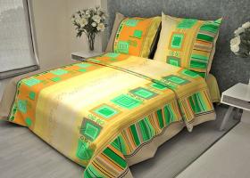 Комплект постельного белья 1,5сп бязь ГОСТ Мотив 1