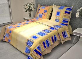 Комплект постельного белья 1,5сп бязь ГОСТ Мотив 2