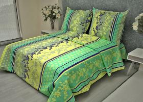 Комплект постельного белья 1,5сп бязь ГОСТ Орнамент цветочный 3