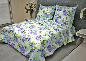 Комплект постельного белья 1,5сп бязь ГОСТ Яблоневый цвет