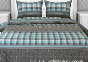Комплект постельного белья евро бязь ГОСТ Оксфорд 8