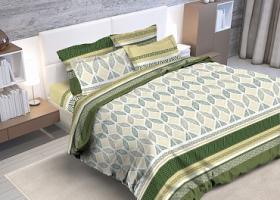 Комплект постельного белья евро бязь ГОСТ Сиэтл 2