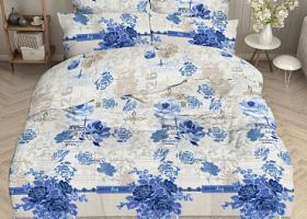 Комплект постельного белья евро бязь ГОСТ Льняной винтаж 1