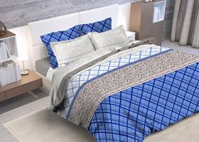Комплект постельного белья евро бязь ГОСТ Августин 1