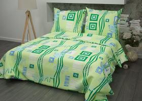 Бязь о/м пл 140 рис 348-2 пикассо зеленый