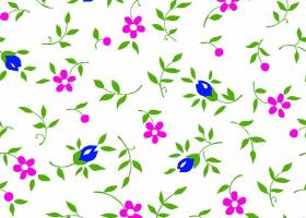 Бязь о/м пл 140 рис 361-3 Полянка розовая