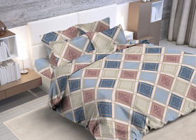 Комплект постельного белья семейный из бязи Стандарт Оксфорд 2