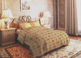 Комплект постельного белья семейный из бязи Стандарт Ромео