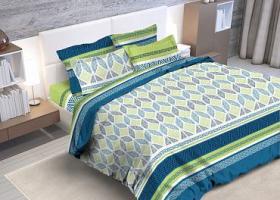 Комплект постельного белья евро из бязи Стандарт Сиэтл