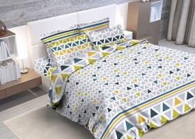 Комплект постельного белья семейный из бязи Стандарт Румба 2