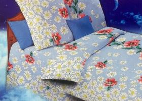 Комплект постельного белья 1,5сп бязь Стандарт Рома+Машка